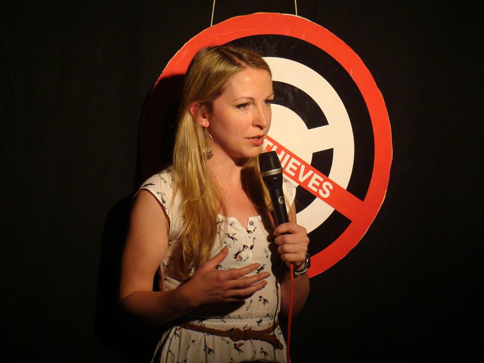 Stand-up comedian Jenny Collier