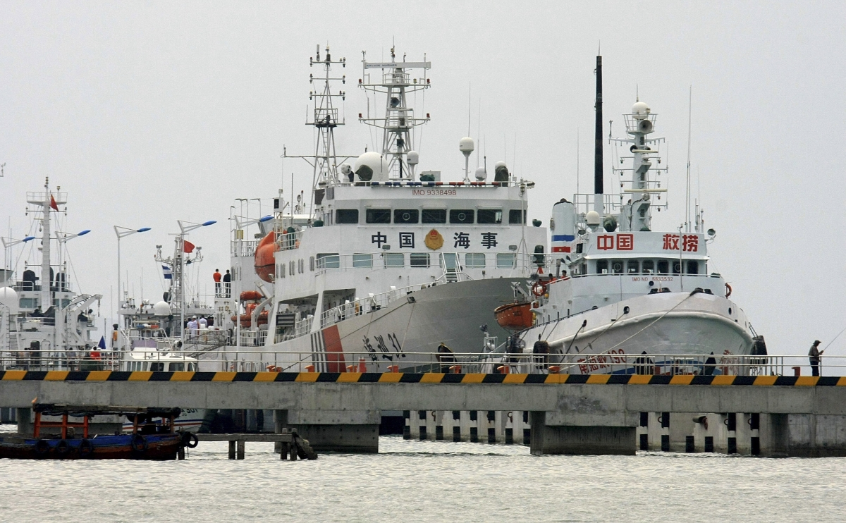 Chinese warships