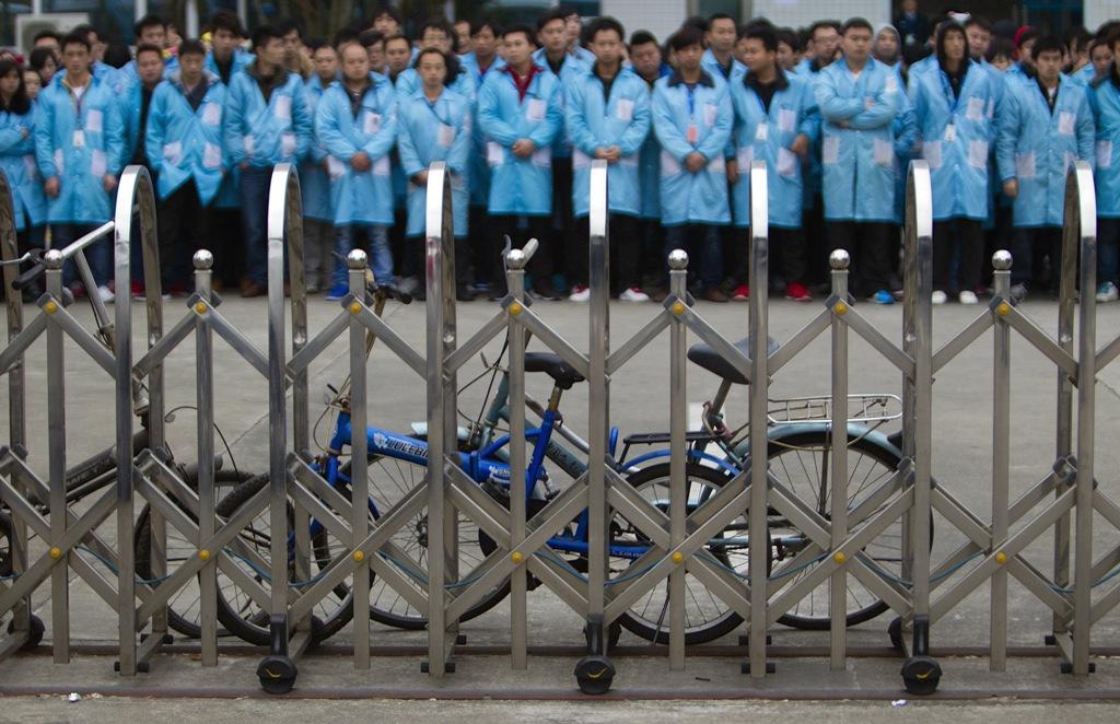 IBM Factory Strike Shenzhen China