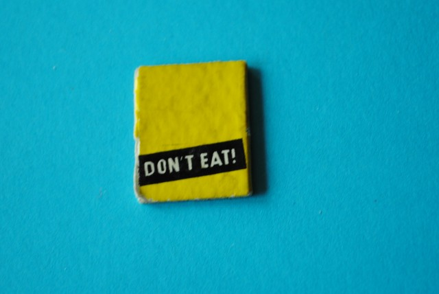 Don't Eat Barbie Book