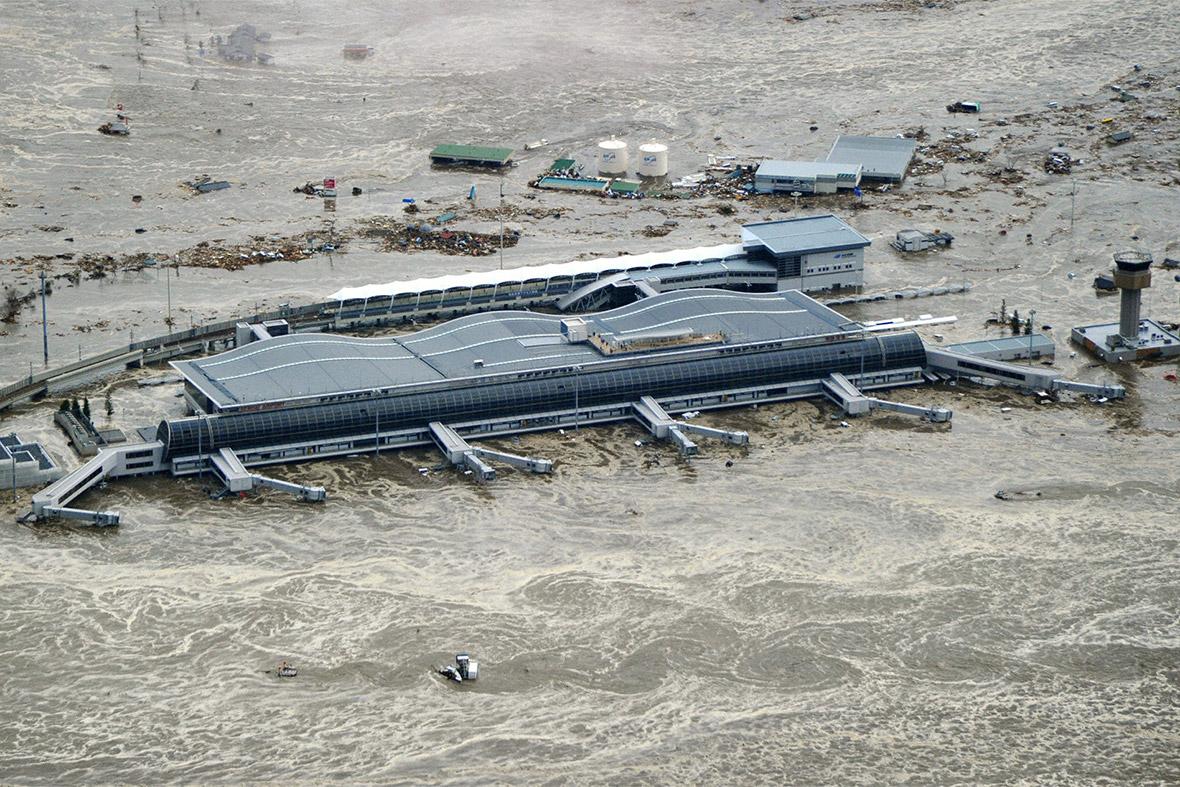 tsunami sendai
