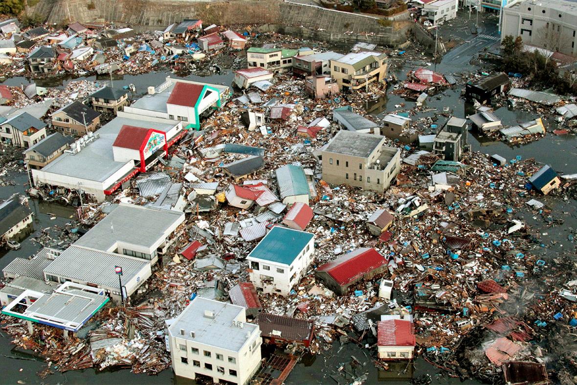 tsunami buildings