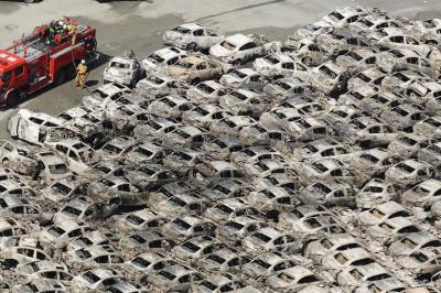 tsunami cars