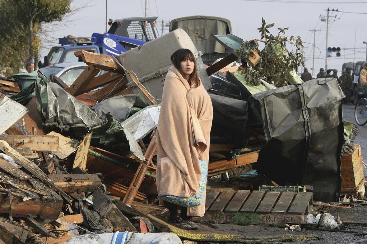 tsunami woman