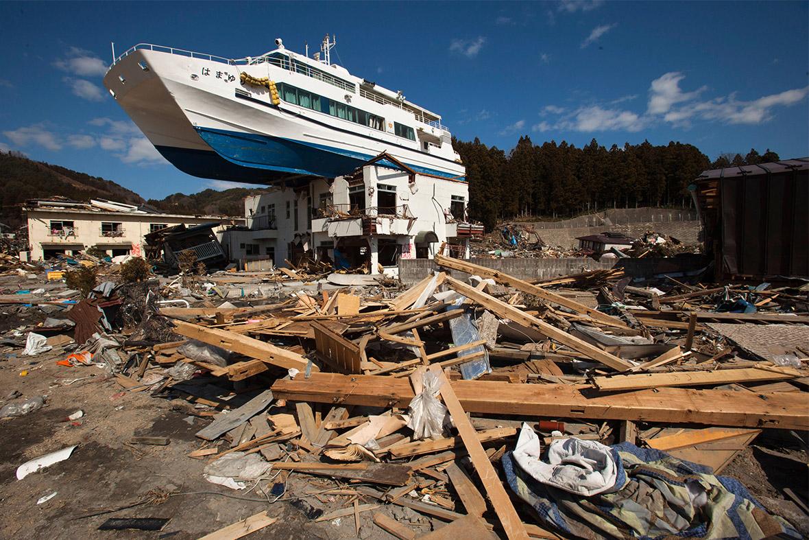 tsunami boat