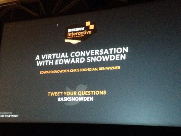 Have a question for Edward Snowden? Tweet #asksnowden