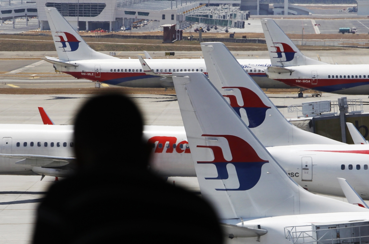Missing Malaysian airlines flight