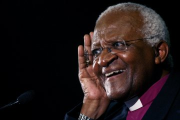 Desmond Tutu Israel Palestine Human Rights Apartheid