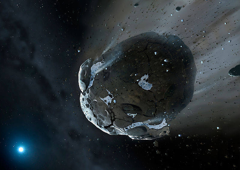 where did asteroids come from - photo #18