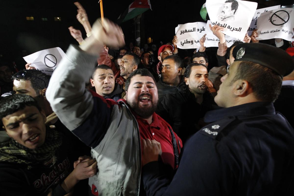 Jordanian judge killed