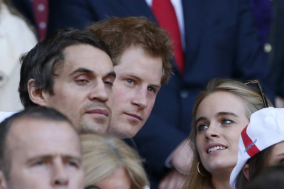 Prince Harry with his girlfriend Cressida Bonas