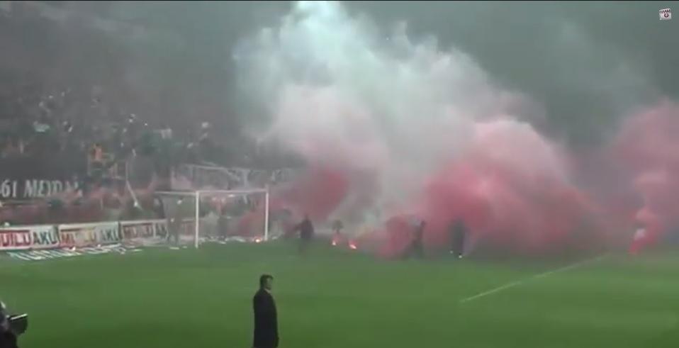 Turkey football hooligans