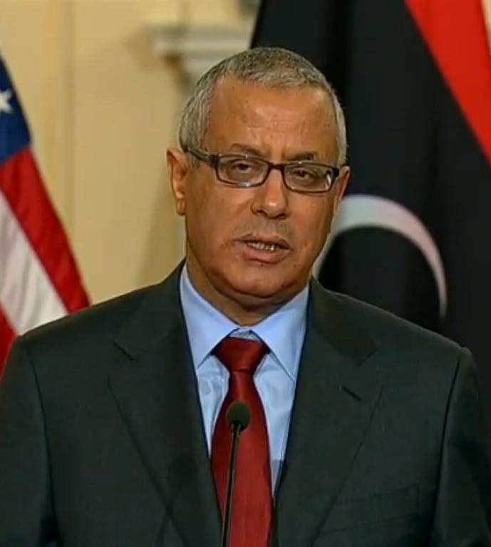 Former Libya's Prime Minister Ali Zidan