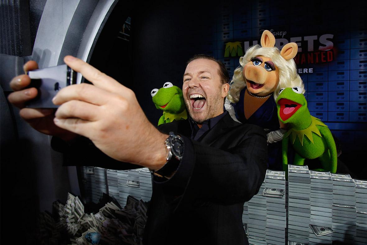 muppets selfie