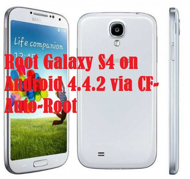 Root Galaxy S4 (LTE) Running Android 4.4.2 I9505XXUFNBA Stock Firmware