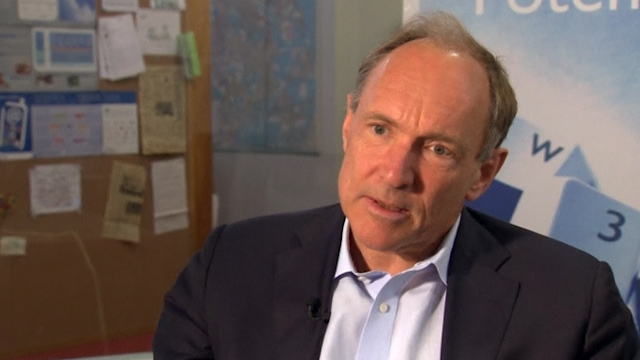 Berners-Lee Marks 25 Years of the World Wide Web