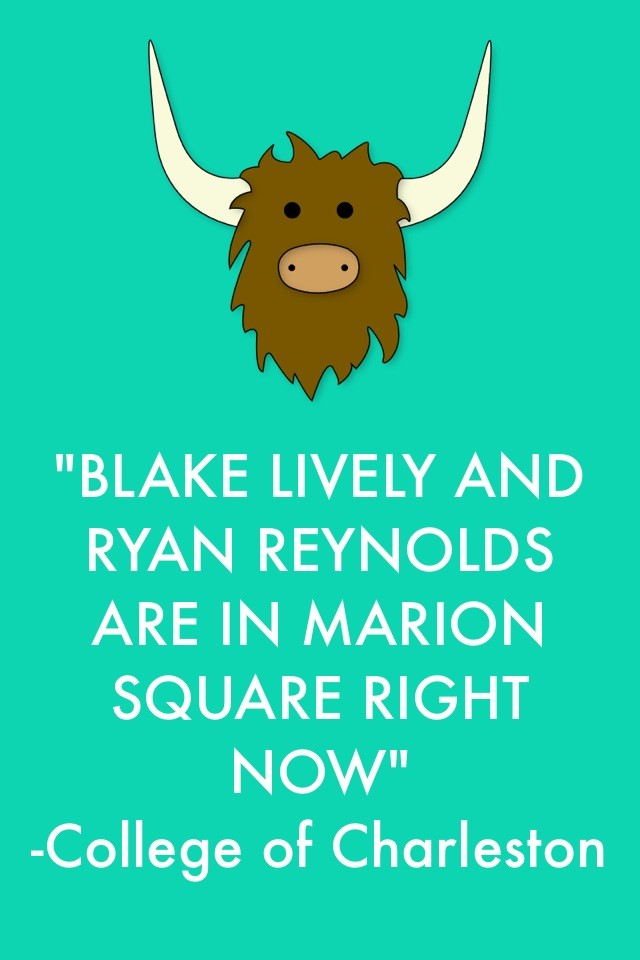 How Yik Yak is used on college campuses: To let people know celebrities have been sighted