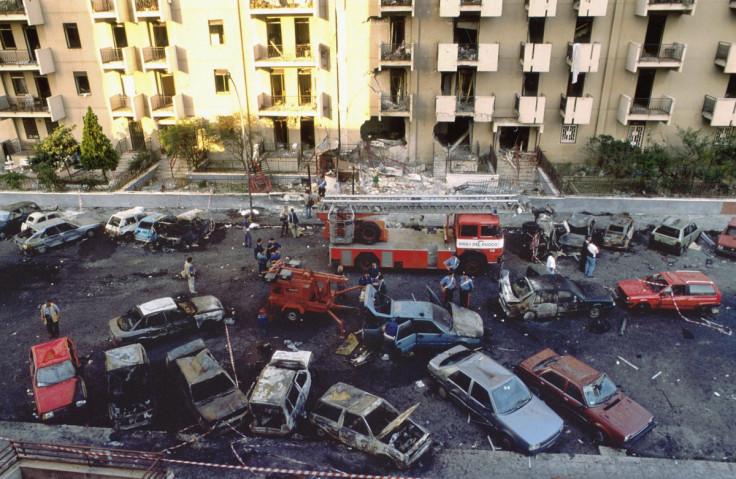 Via D'Amelio Massacre Paolo Borsellino