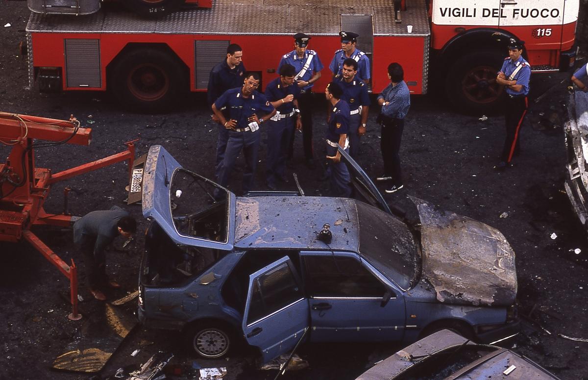 Via DAmelio Massacre Paolo Borsellino Salvatore Riina