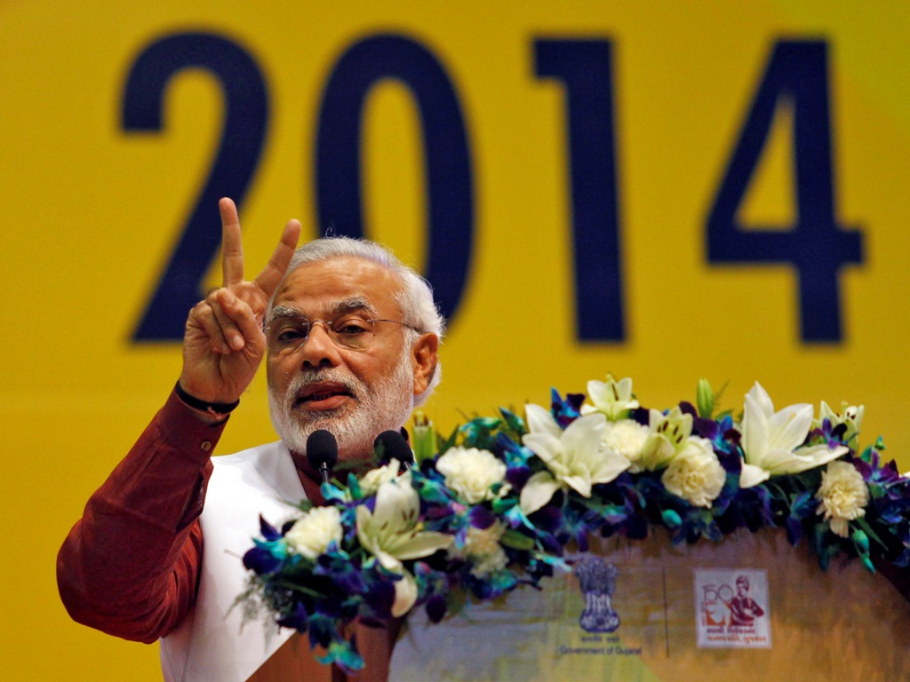 India: BJP Prime Ministerial Candidate Narendra Modi Boosts Equities