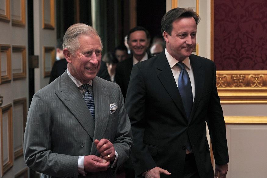 Prince Charles and David Cameron