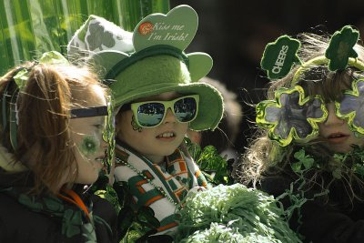 St Patrick's Day children