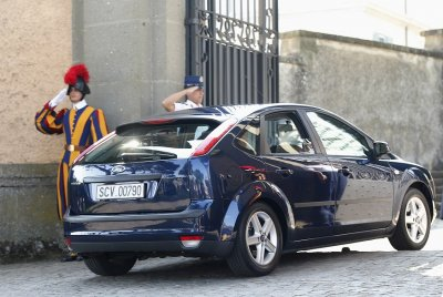 Pope Francis Ford Fiesta