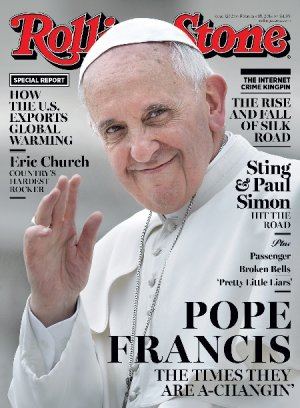 Pope Francis Rolling Stone Magazine