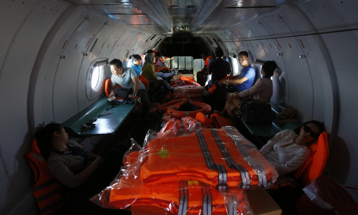 Missing Malysia Airlines flight MH370