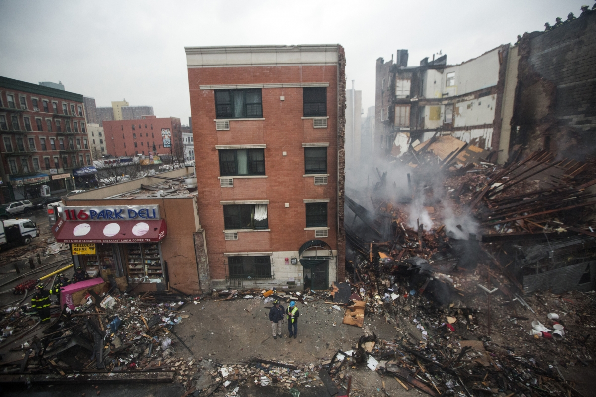 New York City Fire Upper Manhattan Six Dead