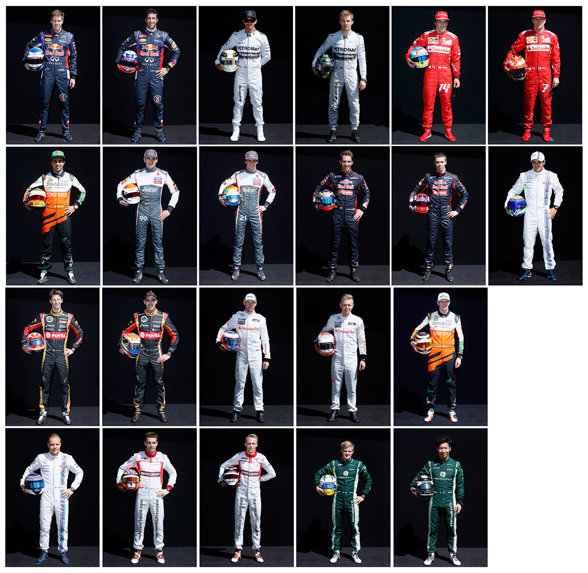 f1 uniforms