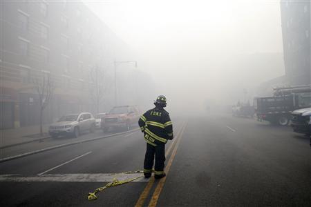New York Mayor Confirms Gas Leak Caused Blast