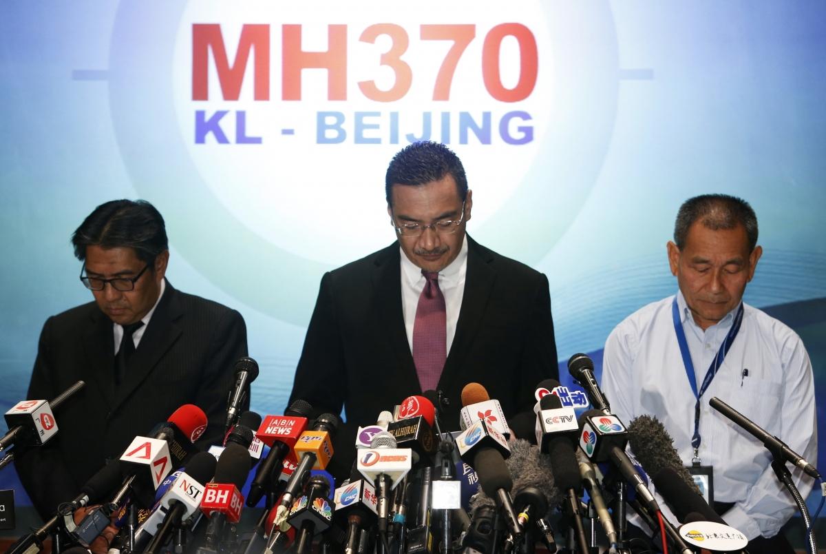 Malaysia Hussein MH370 Plane Jet