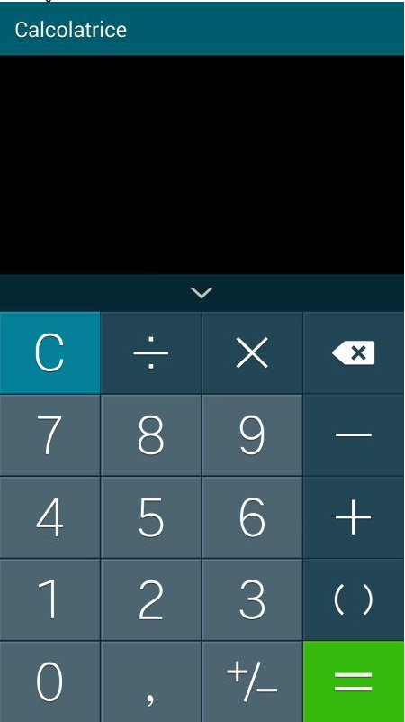 Samsung Galaxy S5 Calculator