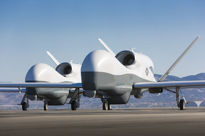 Australia is to buy unmanned Northrop Grumman MQ-4C Triton flying drones to boost maritime security
