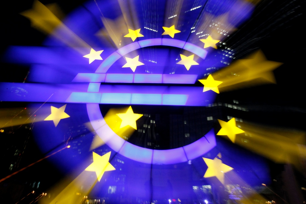 The euro struck a new two-and-a-half year high on 13 March