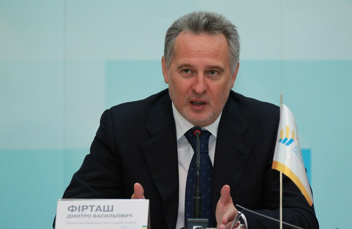 President of the Federation of Employers of Ukraine Dmitry Firtash