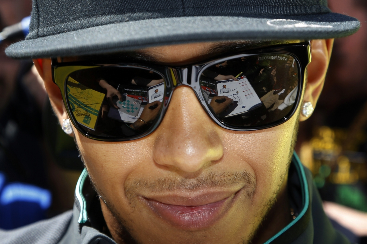 "Lewis Hamilton thinks Schumacher is in a coma ""for a reason"""
