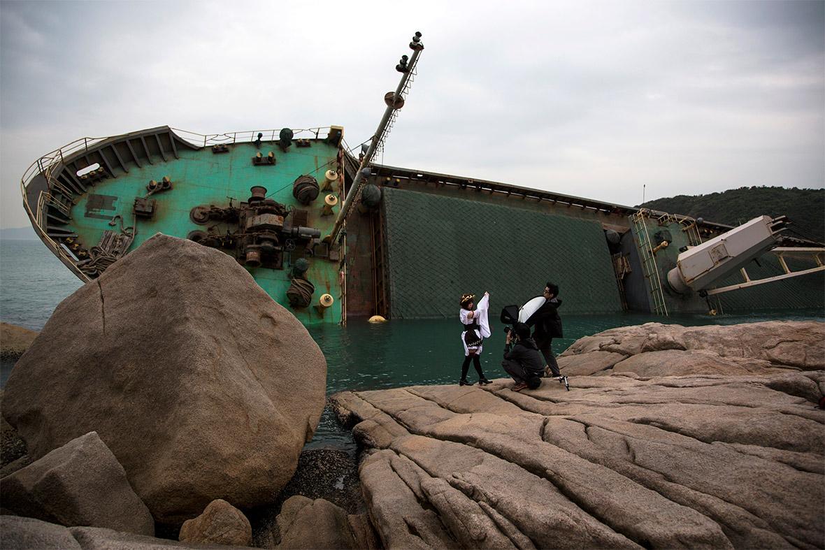 ship capsized
