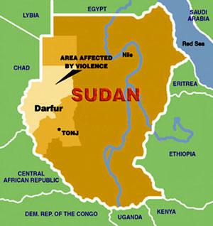 Darfur map