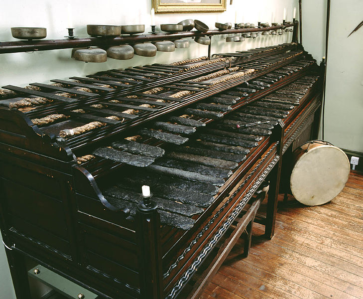 Joseph Richardson's Rock Harmonicon was built in the 19th century using slate