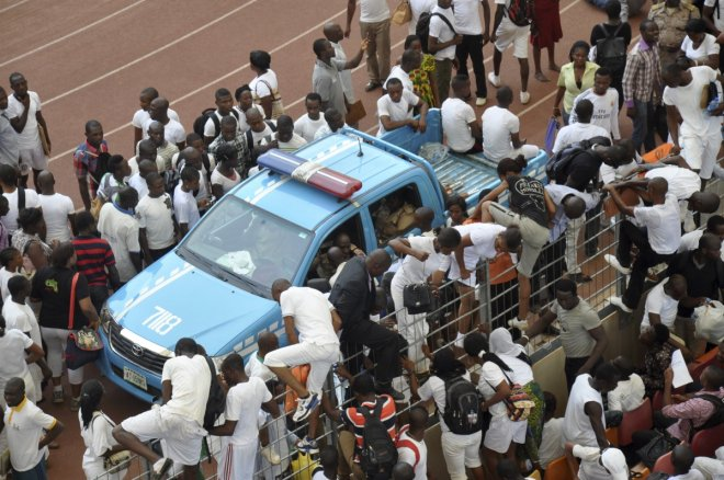 Abuja stampede