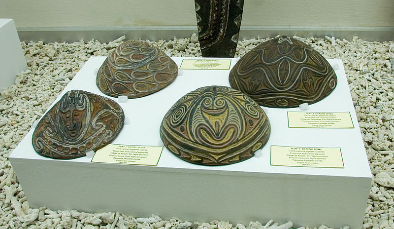 Eating bowls from Papua New Guinea