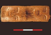 9,000-Year-Old Bone Wand with Etched Human Faces Discovered in Syria