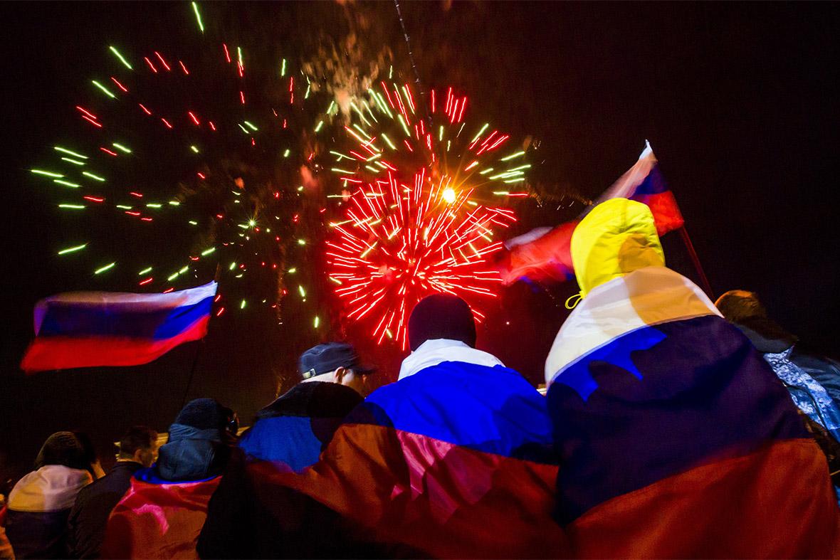 russia celebrate