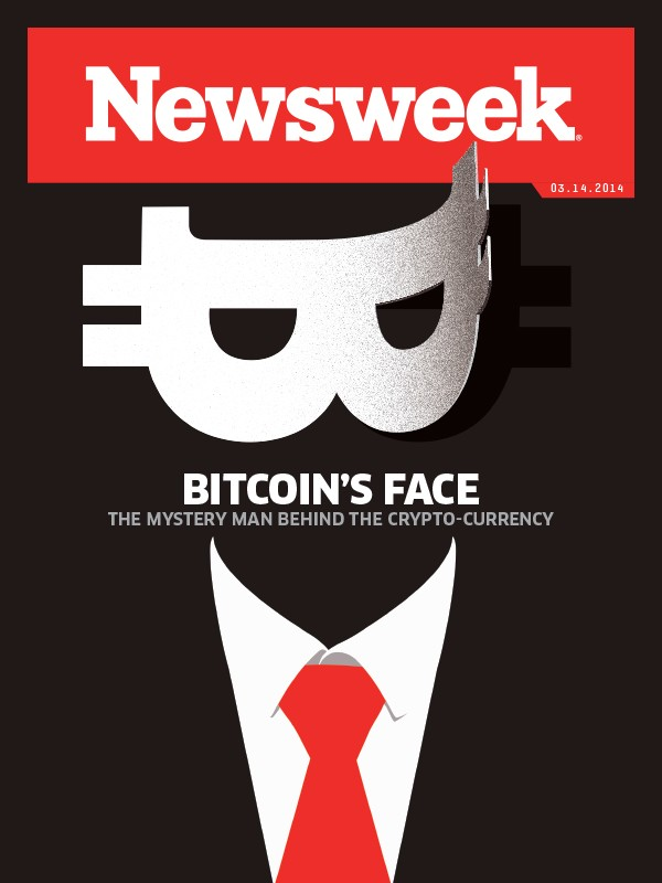 Newsweek Bitcoin cover