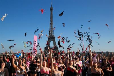pink bra day