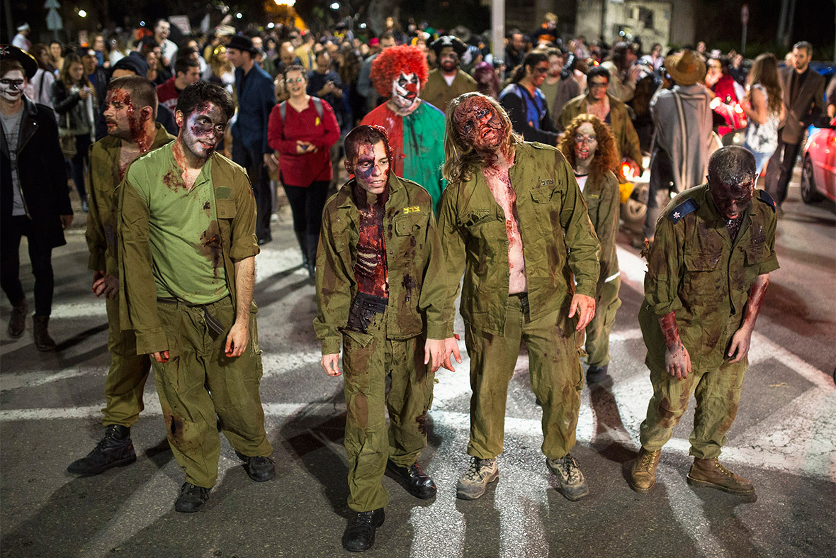 purim zombies