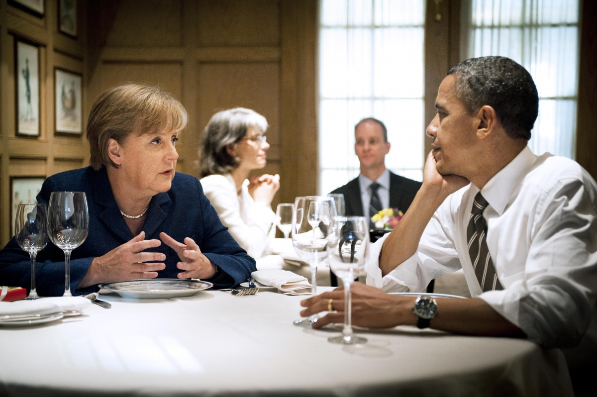 Germany US Flight Russia Ukraine Obama Merkel