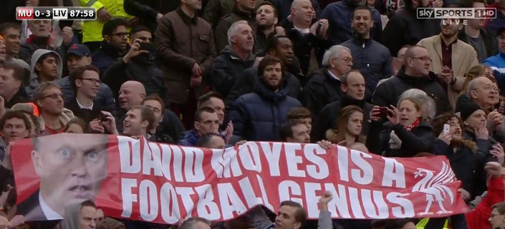 David Moyes banner
